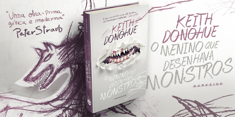|Resenha| O Menino que Desenhava Monstros – Keith Donohue |Livro|